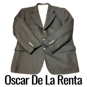 Oscar De La Renta Mens Sports Coat Sz 42S